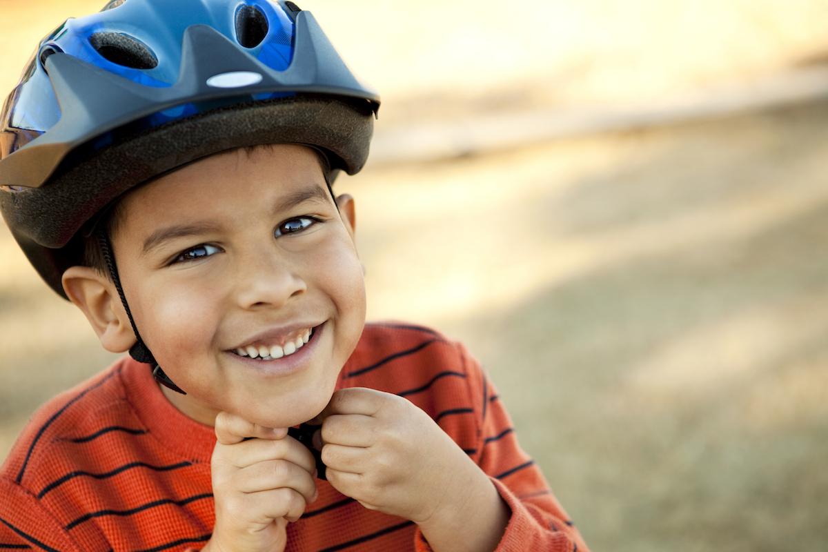 Fahrradhelm Ja oder Nein? – Vorsicht auf dem Spielplatz